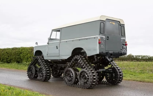 Необычный вездеход Land Rover Series II от Cuthbertson