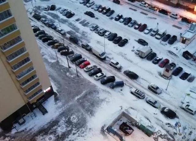 Решение проблемы с парковкой во дворе