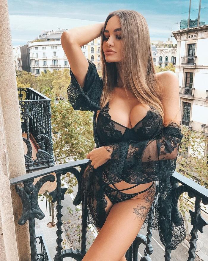 Сексуальные русские девушки на фото из Instagram