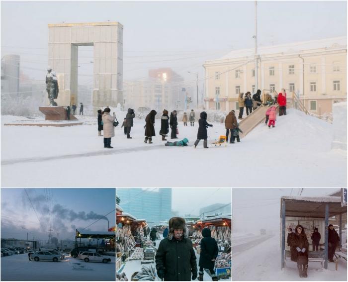 Холодные снимки: сибирский город Якутск