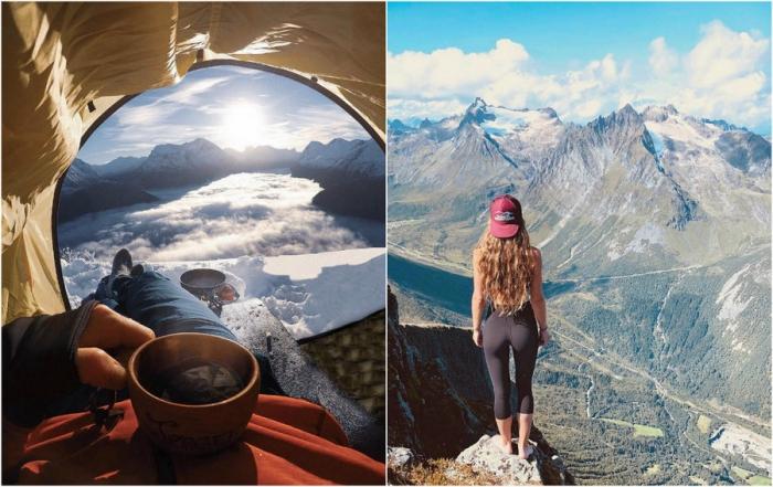Замечательные снимки горных пейзажей, сделанные Йоргеном Ойехаугом