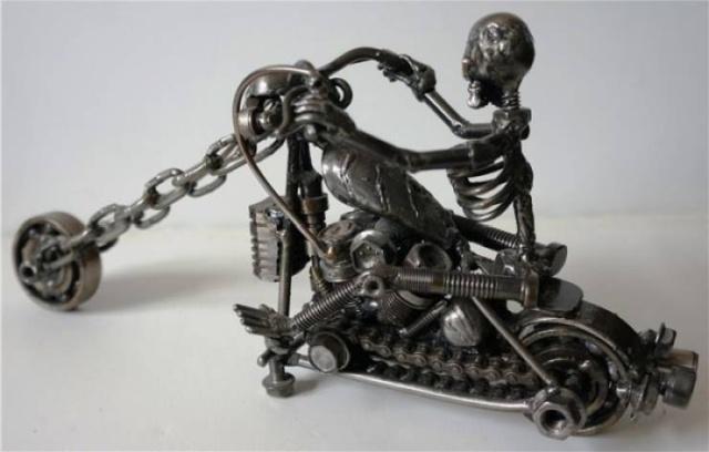 Металлические статуэтки своими руками