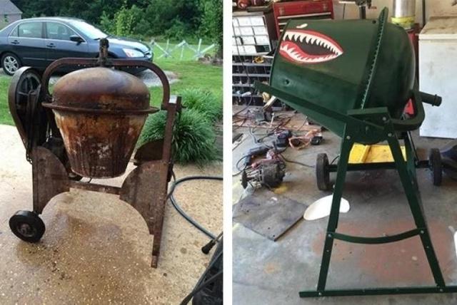 До и после реставрации