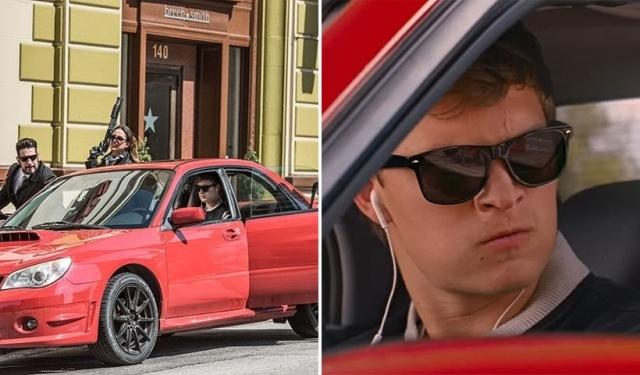 """Как снимали автомобильные сцены из фильма """"Малыш на драйве"""""""