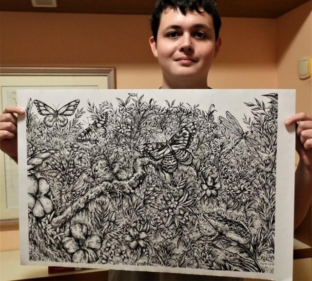 Прогресс юного художника
