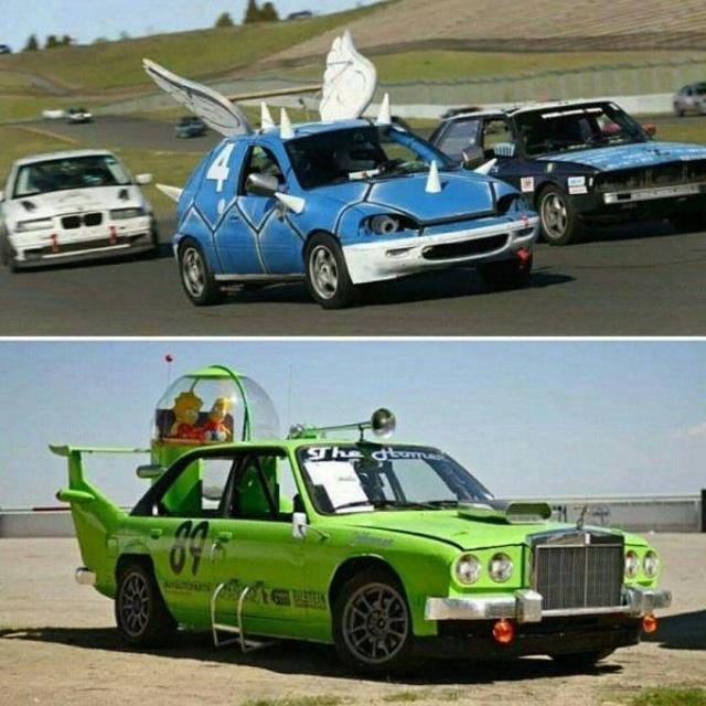 Необычный тюнинг и странные автомобили