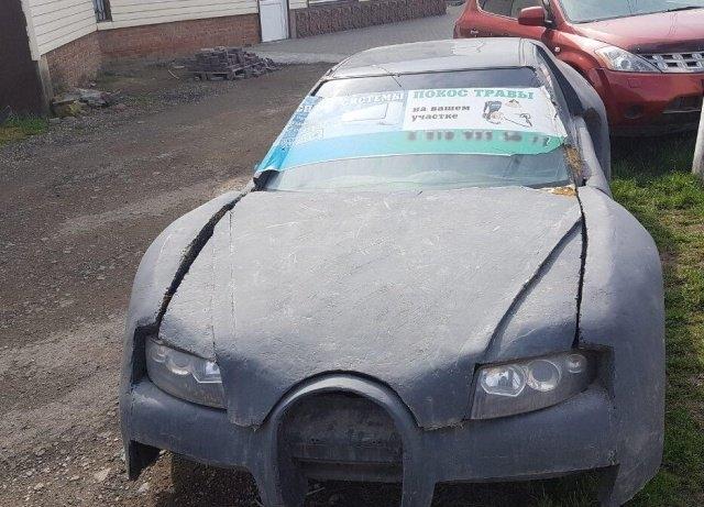 Bugatti из Краснодара