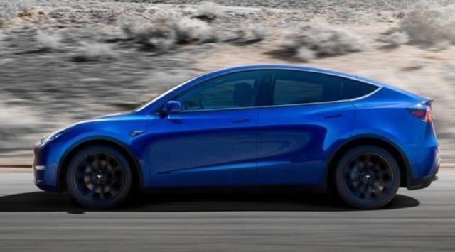 Tesla представила компактный электрический кроссовер Model Y