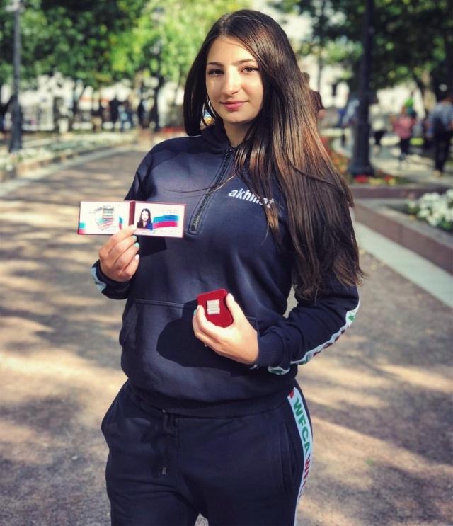 Лиана Джоджуа стала третьей россиянкой