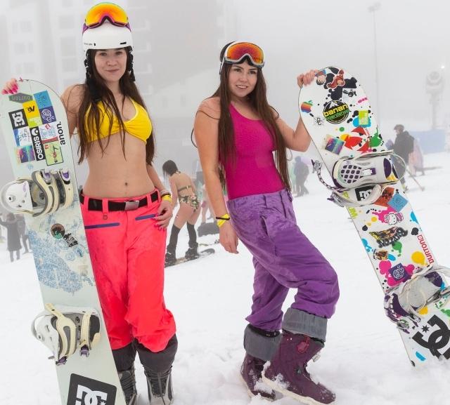 Фестиваль BoogelWoogel собрал в Сочи 25 тысяч лыжников и сноубордистов