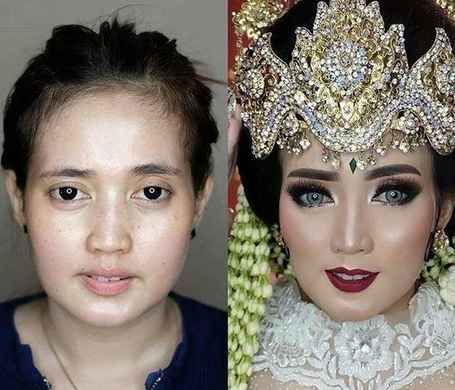 Свадебный макияж азиатских невест:
