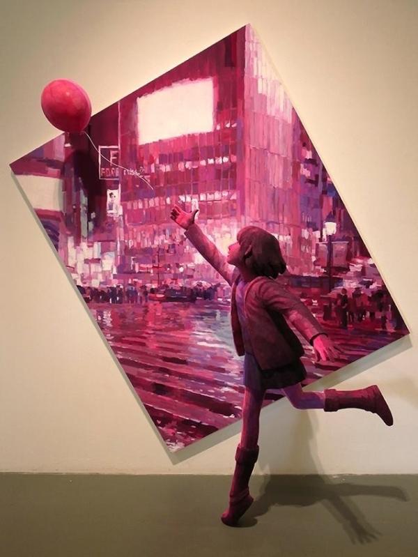 Трехмерные работы японского художника Шинтаро Охата