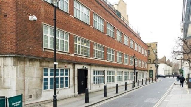 Вы бы никогда не догадались, что находилось внутри этого здания в Лондоне