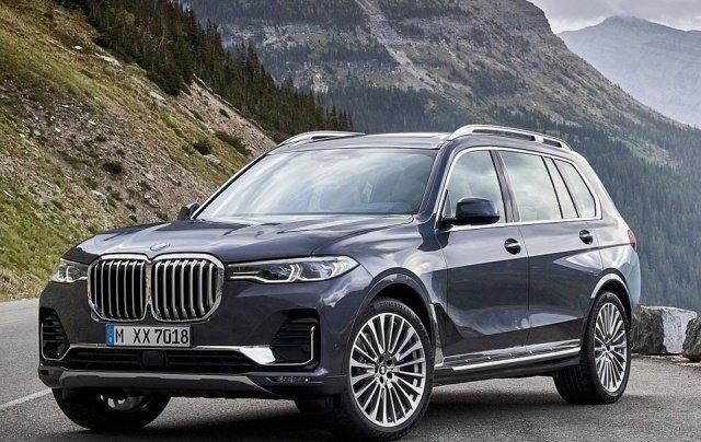 Житель Подмосковья угнал из автосалона один из двух имеющихся в России BMW X7