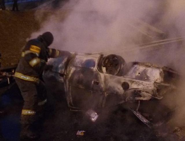 Необычная авария на Симферопольском шоссе
