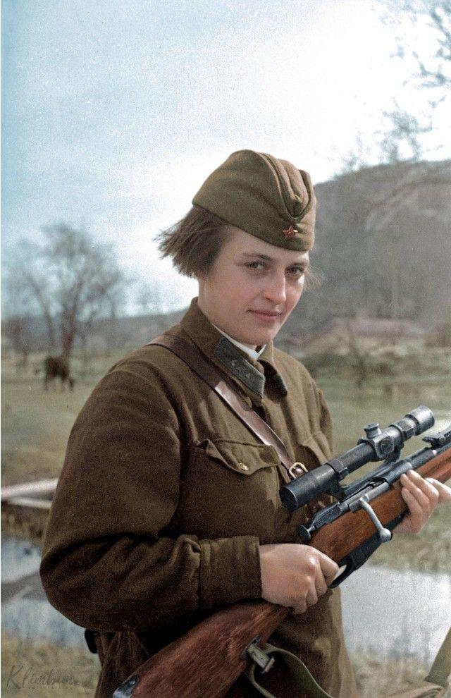 Если бы во время Великой Отечественной Войны снимали на цветную пленку