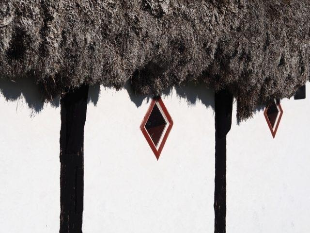 Необычные дома на острове Лэсо