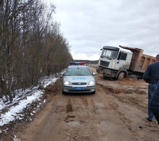 Водители не оставили безнаказанным вывоз строительного мусора