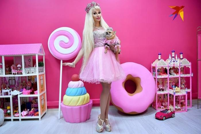 На превращение в Барби россиянка потратила $150 000