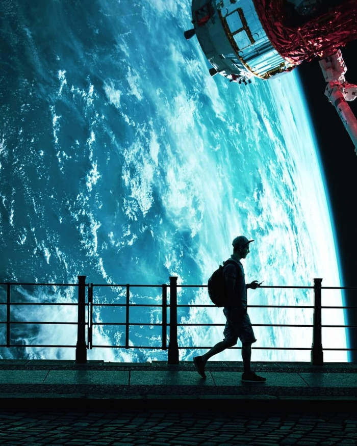 Цифровая страна чудес сказочные фотоманипуляции Диого Сампайо