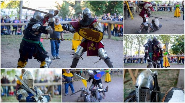 Чемпионат по средневековым боям в Аргентине
