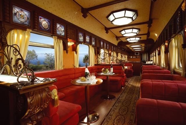 Поезда, на которых ездят богатые люди