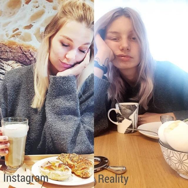 Насколько реальность отличается от того, что нам показывают в Instagram