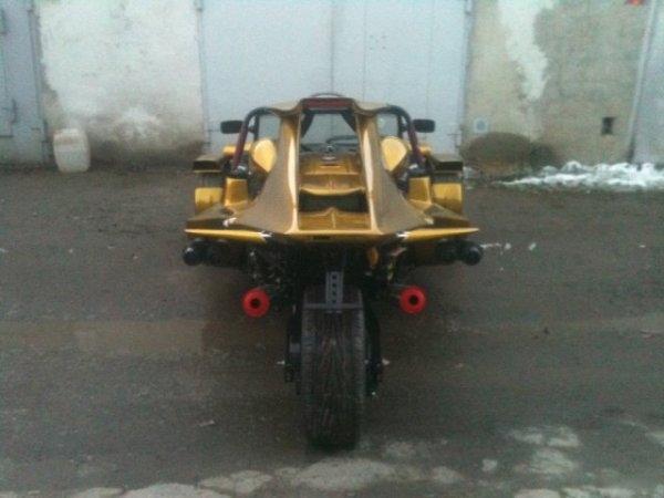 Житель Челябинска сделал спорттрайк по фотографиям из интернета