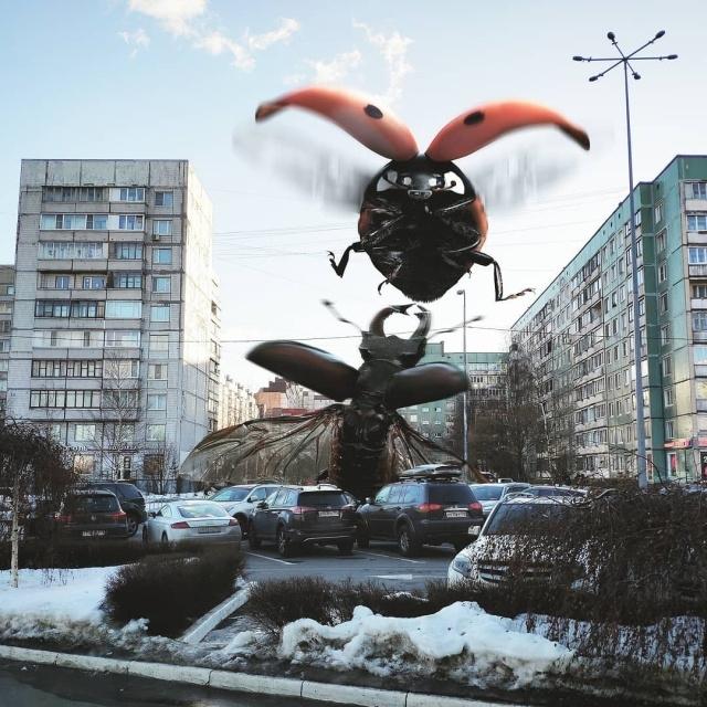 Необычные пейзажи Санкт-Петербурга от художника Вадима Соловьева