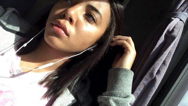 18-летняя американская школьница Кейтлин Финк не стесняется того, что снимается в фильмах для взрослых
