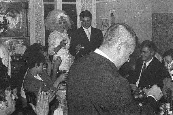 Московская свадьба 60-х