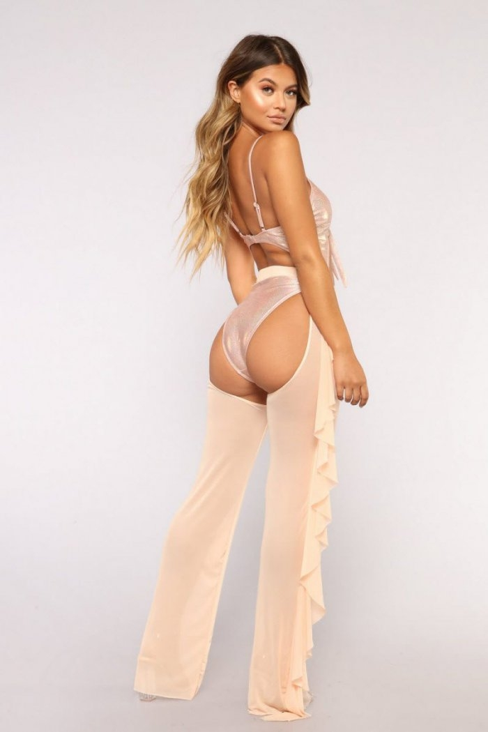Модная новинка - женские штаны с бикини