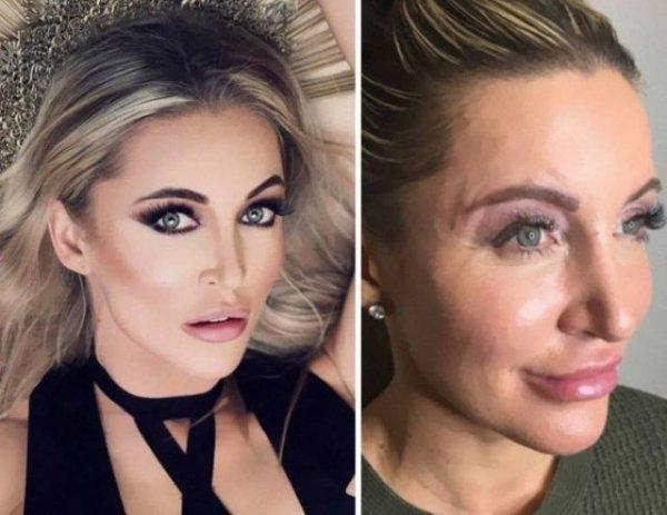 Что кроется за макияжем и фильтрами в Instagram