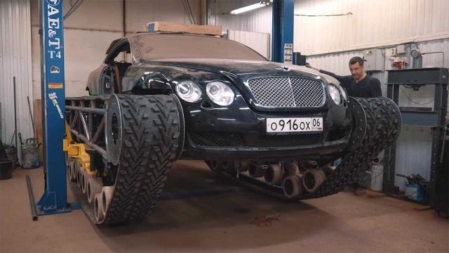 Уникальный вездеход из элитного Bentley Continental GT