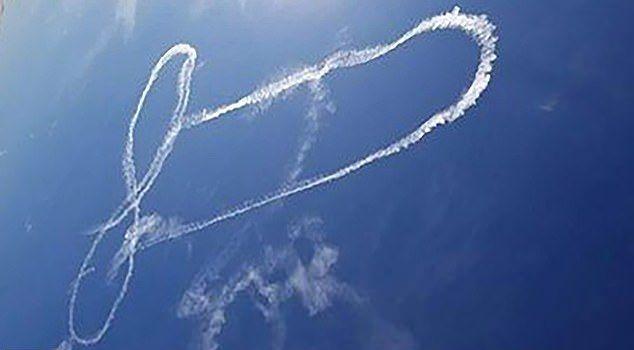 Гигантское хозяйство в небе от летчиков ВМС США