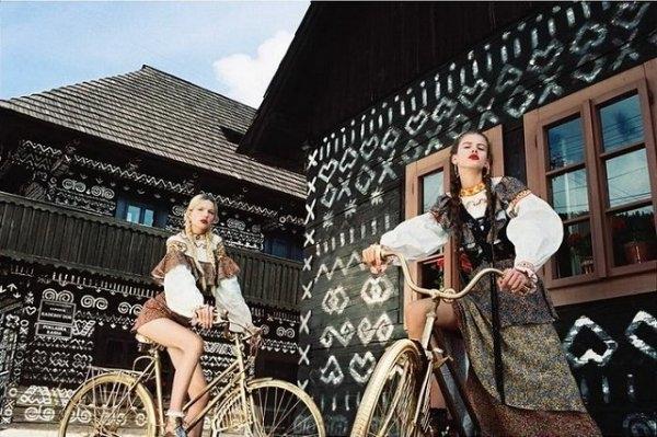 Братиславский фотограф доказал, что и в деревне может быть настоящий fashion