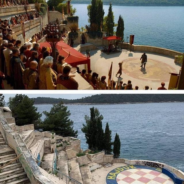 """Как выглядят локации """"Игры престолов"""" на съёмках и в реальной жизни"""