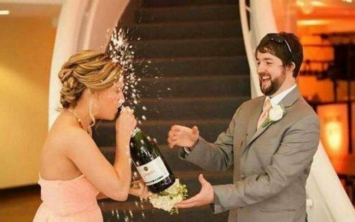 20 забавных свадебных кадров