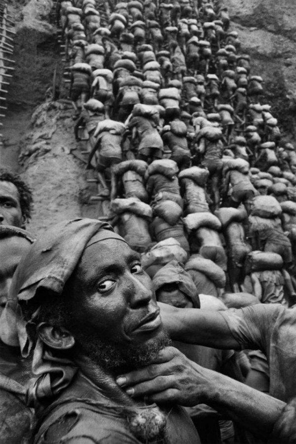 Архивные снимки золотой лихорадки в Бразилии