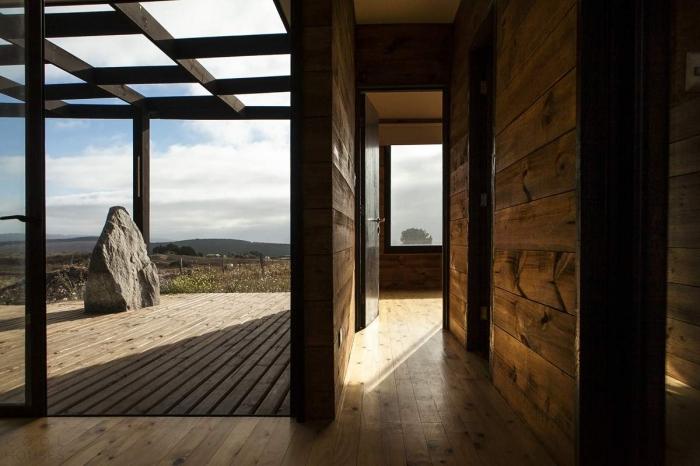Сборный дом для отдыха в Чили