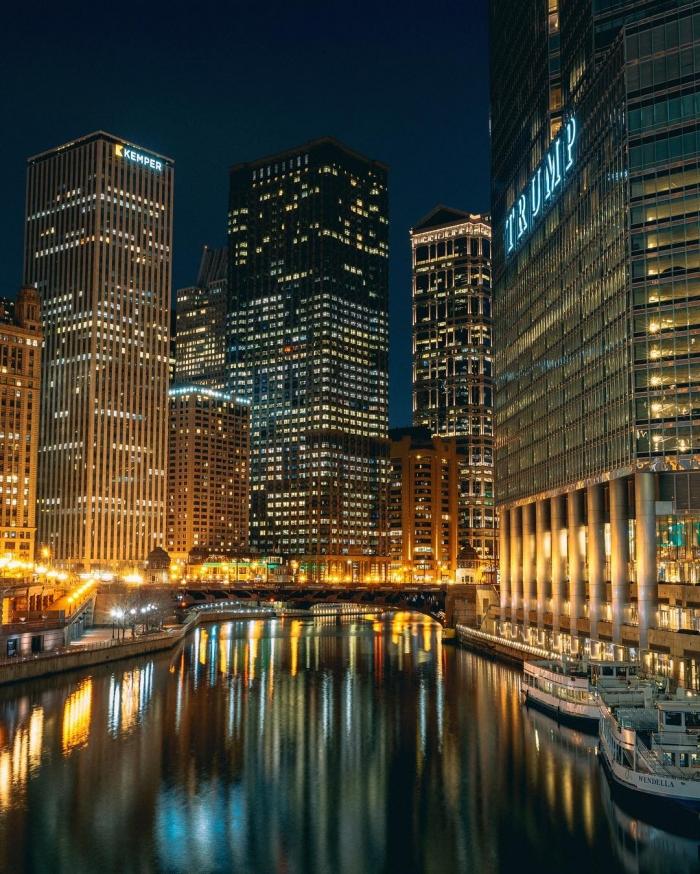 Чикаго на снимках Ника Кроуфорда
