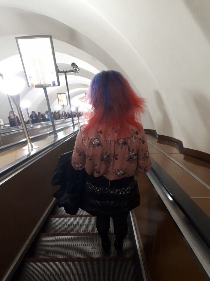 Модники из российского метрополитена