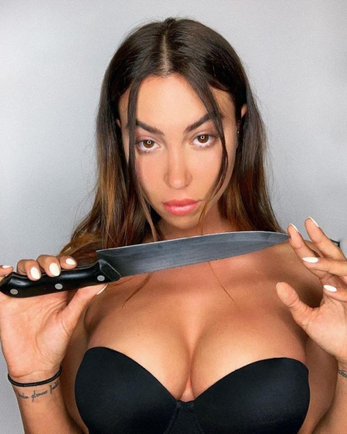 Итальянка Валентина - модель, балерина и кунгфуистка в одном флаконе