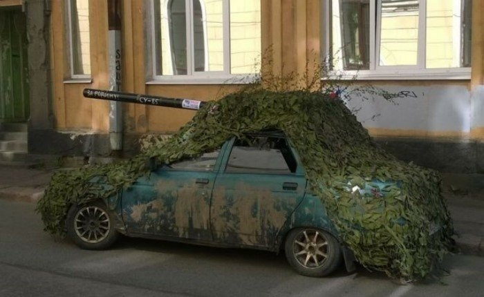 Сельский моддинг беспощадный и ужасный