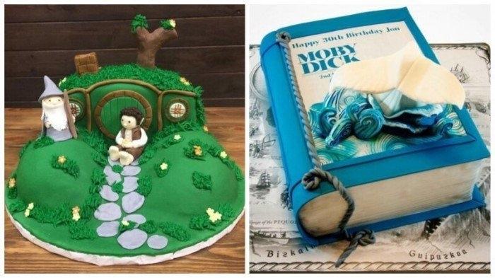 22 волшебных торта, которые оценят все любители чтения