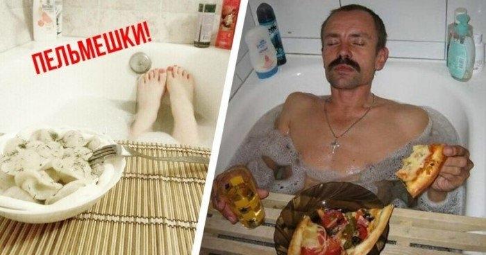 ТОП вкусняшек, которые очень хорошо заходят в ванной