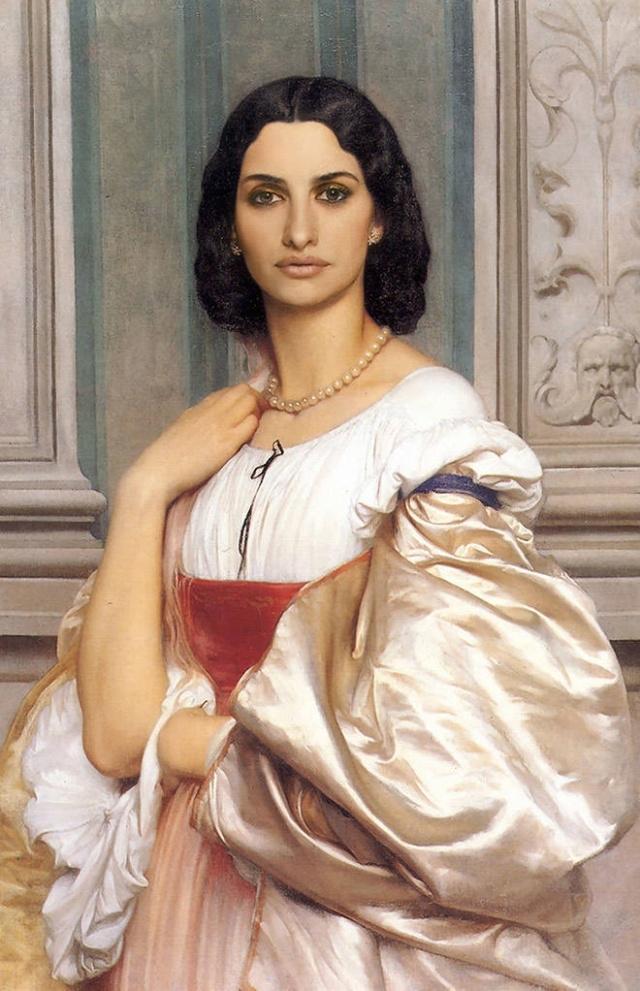 Знаменитости на полотнах классических картин