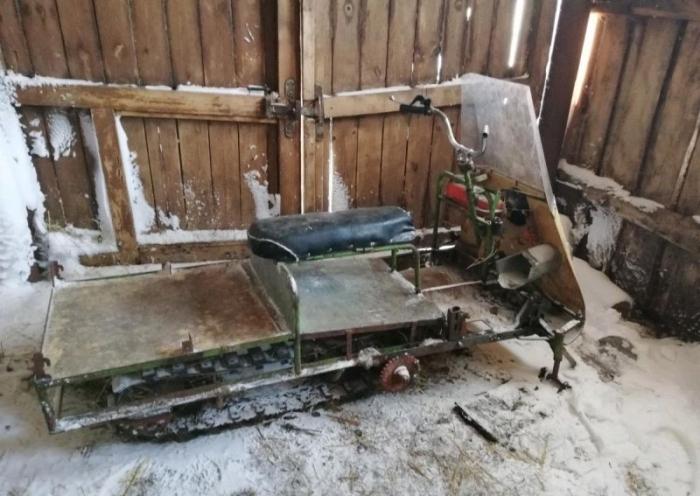 Умелец из Самары продает самодельный снегоход