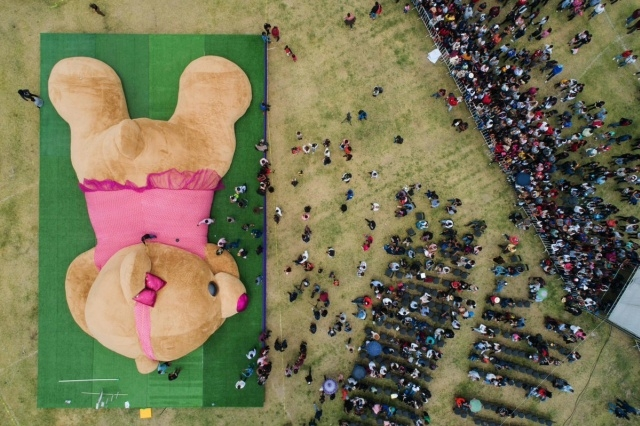 Огромный медведь на Филиппинах