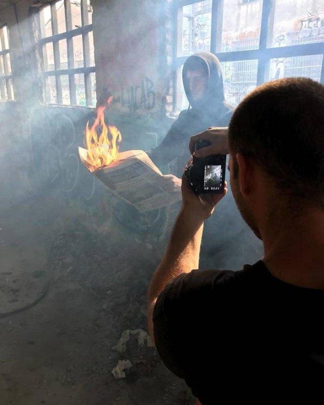 Трюки фотографов